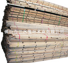 Flame retardant wood brace